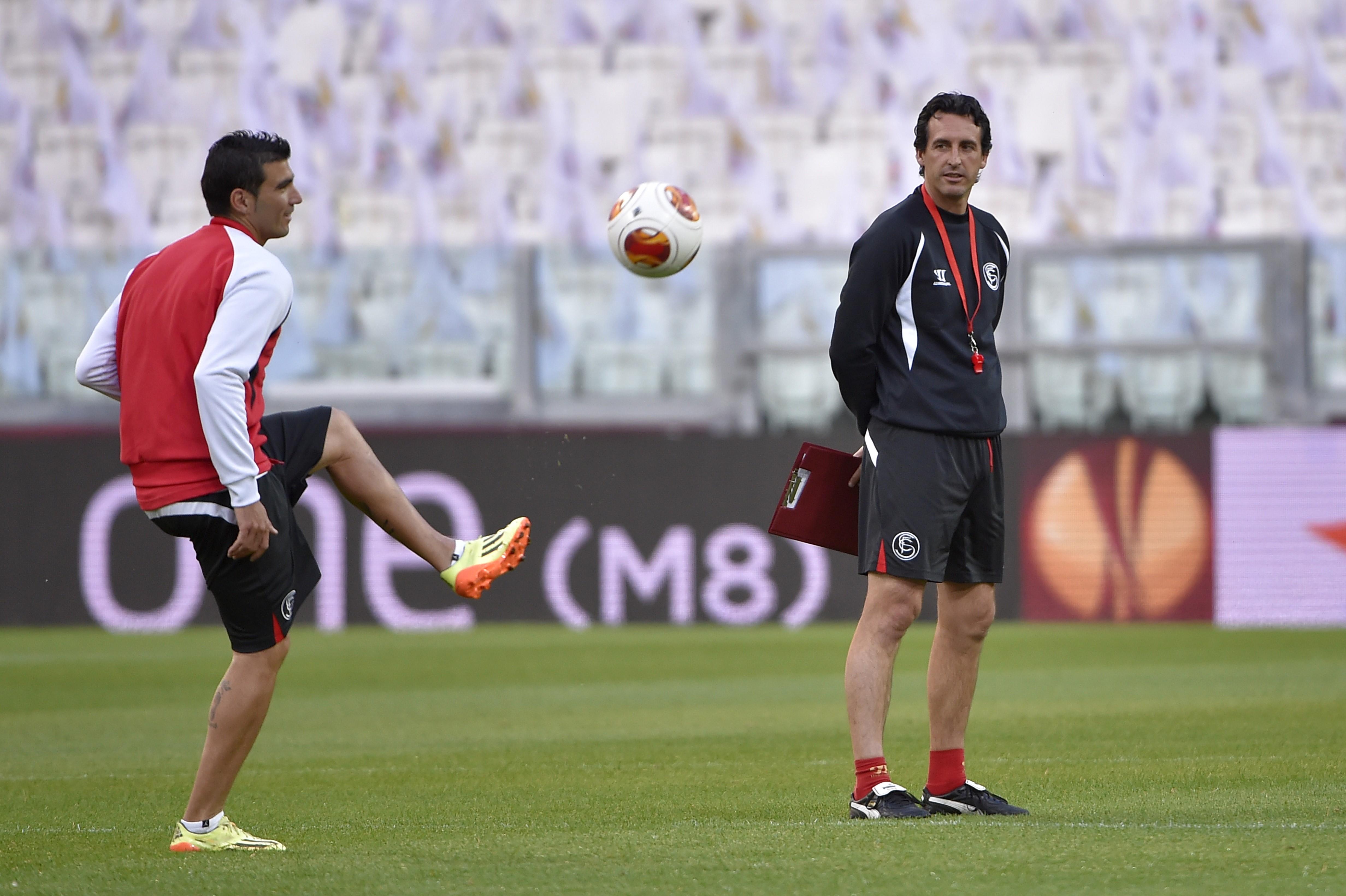 Jose Antonio Reyes ve Unai Emery, Sevilla