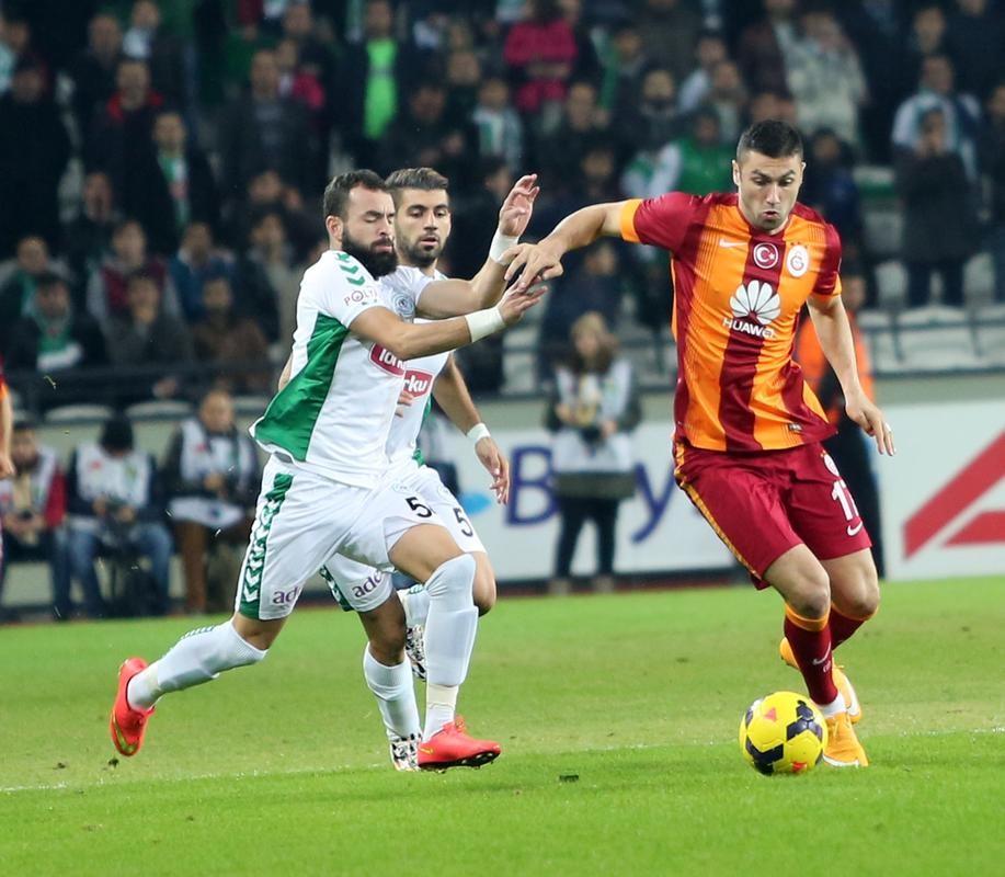 Galatasaray-konya maç özeti