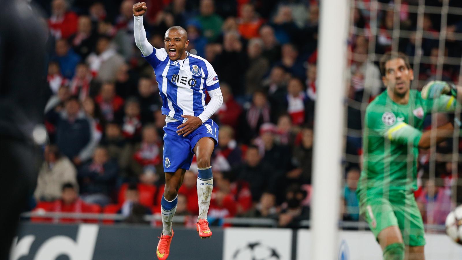 Yacine Brahimi avec le FC Porto en Ligue des champions - 2014-2015
