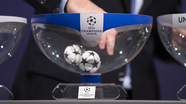 Sorteo Champions League: Madrid,Barça, Atlético y Sevilla buscan rival en Eurosport 1 (18:00)
