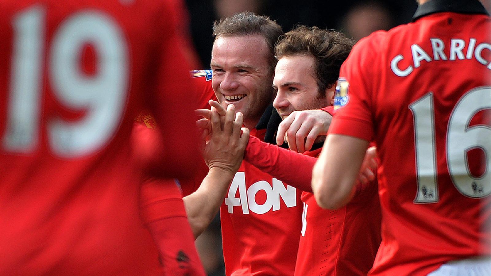 Manchester United (Rooney et Mata)