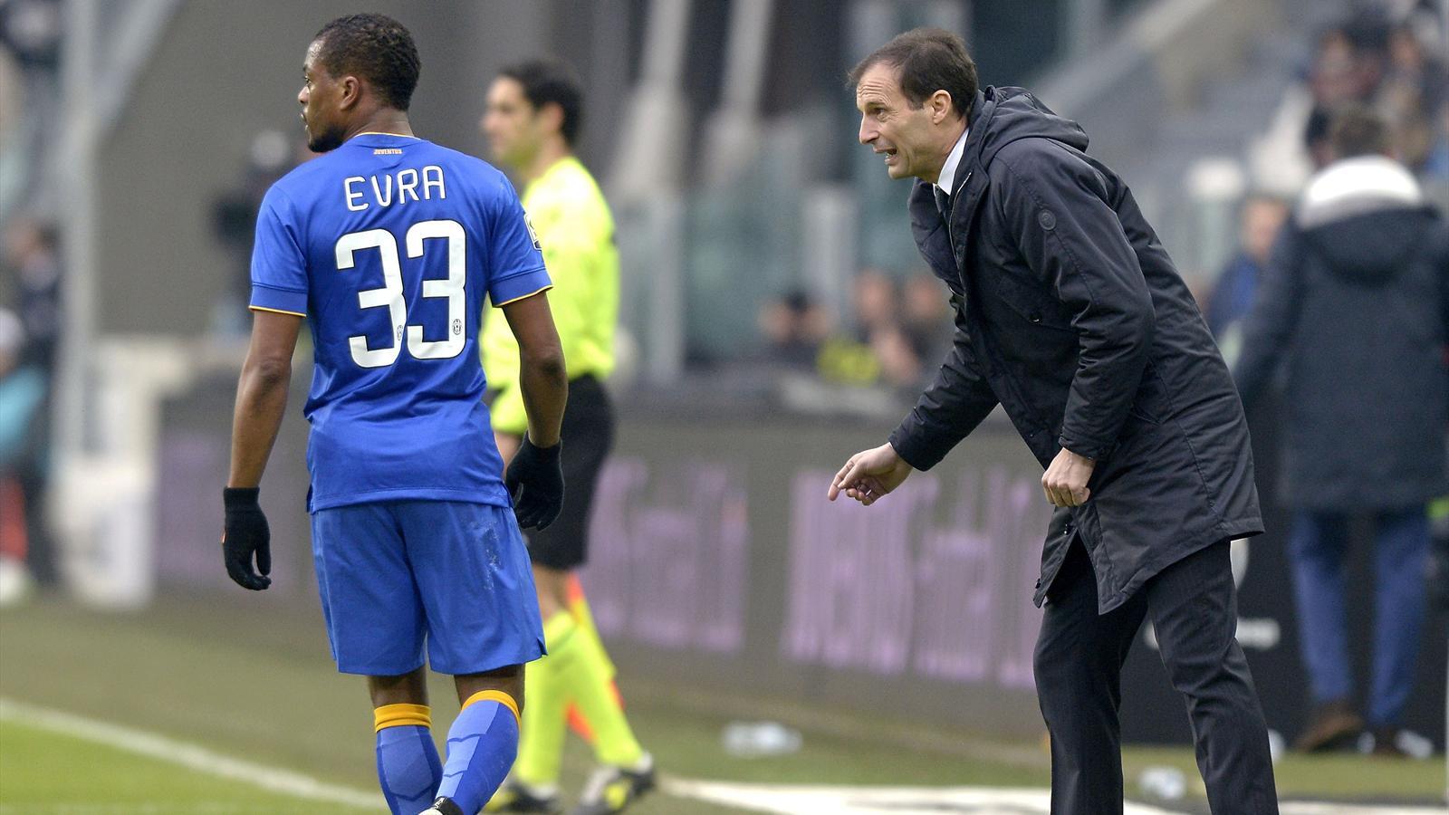 Juventus 1-1 Sampdoria : Evra l