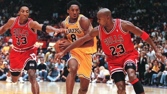 """Quand Jordan était impressionné par Kobe : """"Est-ce qu'on sautait comme ça ? Je ne m'en souviens pas"""""""