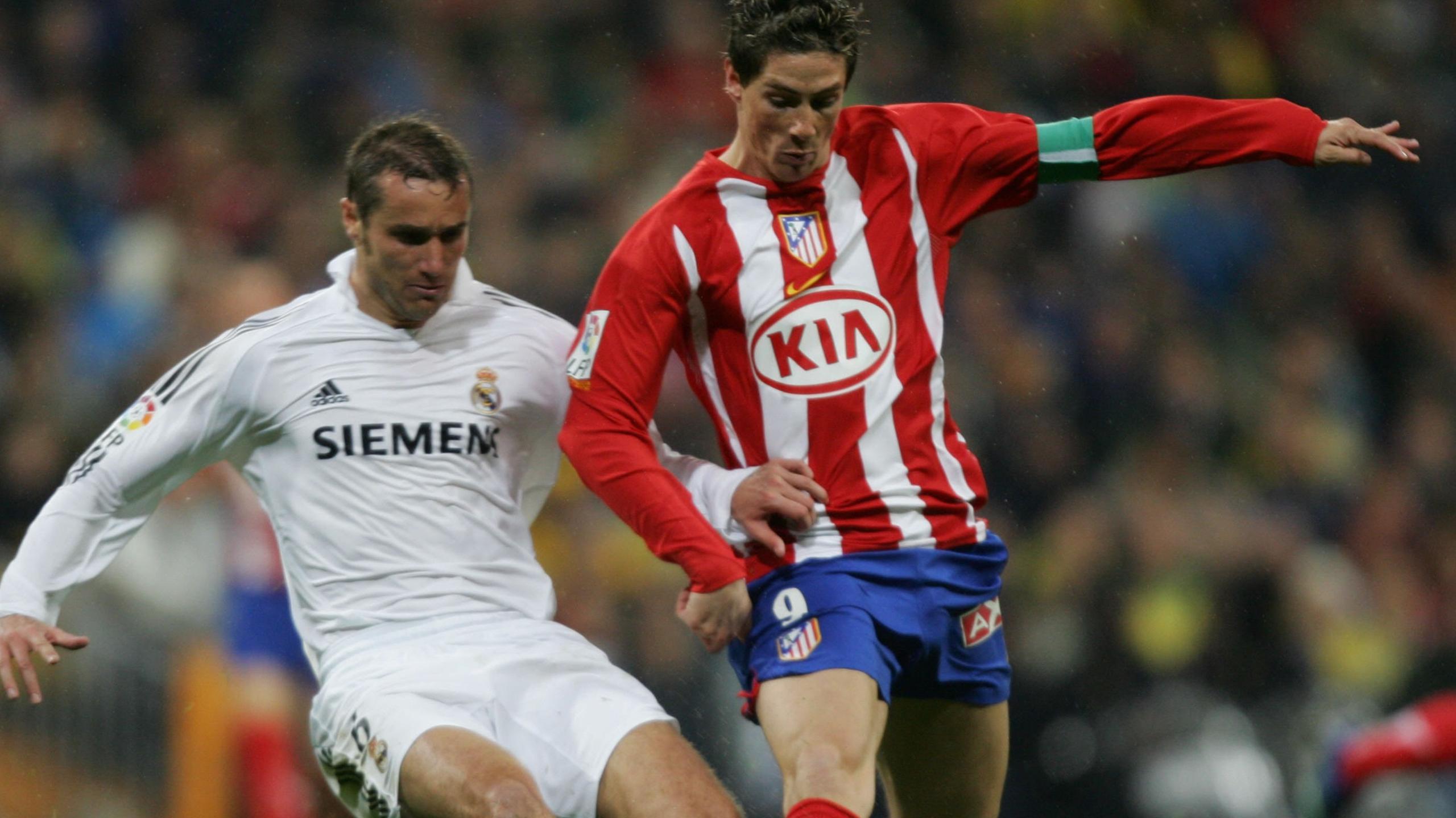 Fernando Torres avec l'Atlético Madrid en 2006.