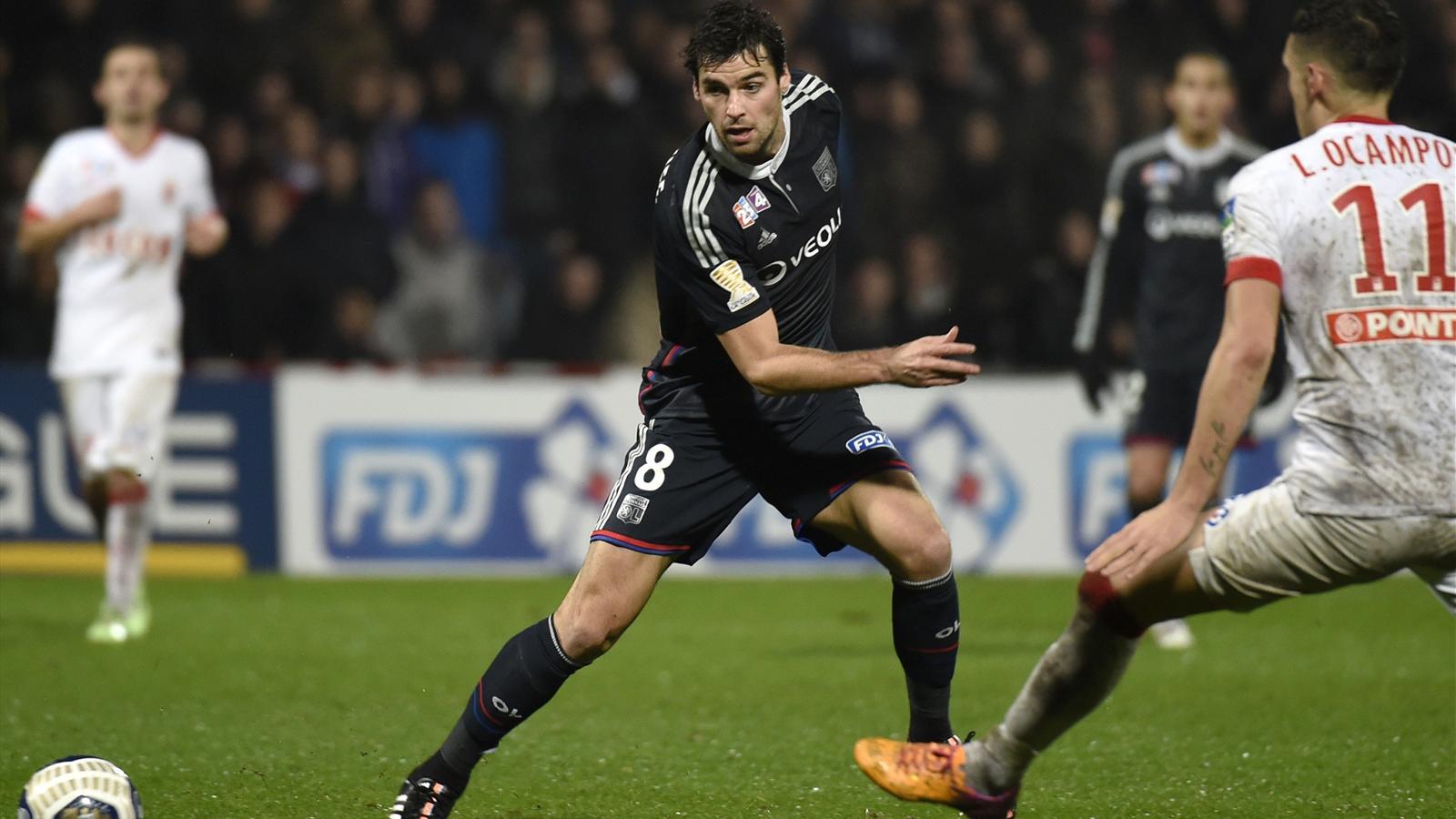 Coupe de la ligue ol asm 1 1 4 tab 5 gourcuff le contre pied qui a contrari lyon - Lyon monaco coupe de la ligue 2014 ...