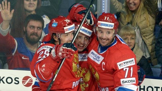 Россия начала Кубок Первого канала победой над Финляндией
