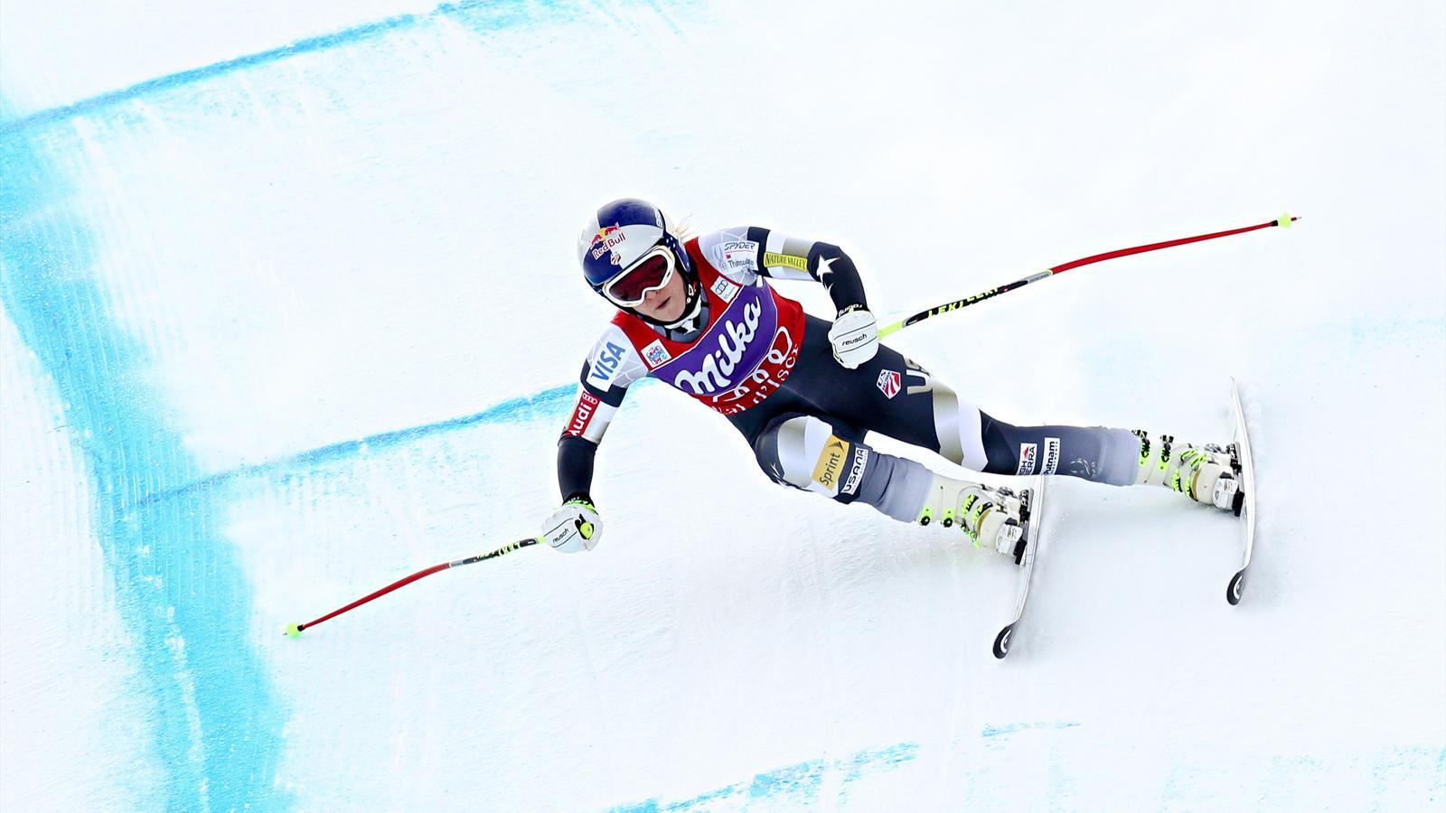 Coupe du monde val d 39 is re lindsey vonn remporte la - Coupe du monde ski alpin 2015 calendrier ...