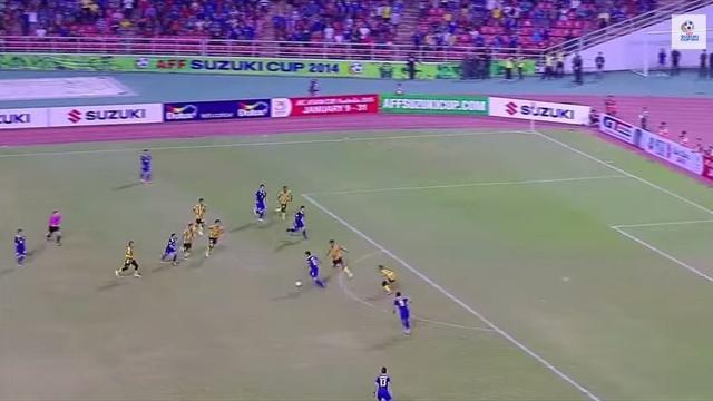 Quand la Thaïlande joue comme le Barça