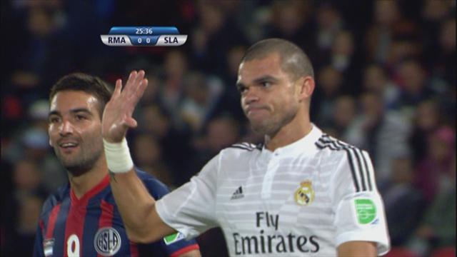 Pepe a du mal avec les touches...