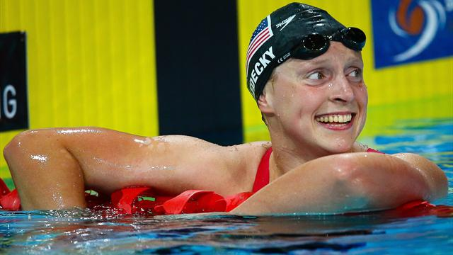 'It was easy' says Katie Ledecky after smashing 1500m freestyle world record