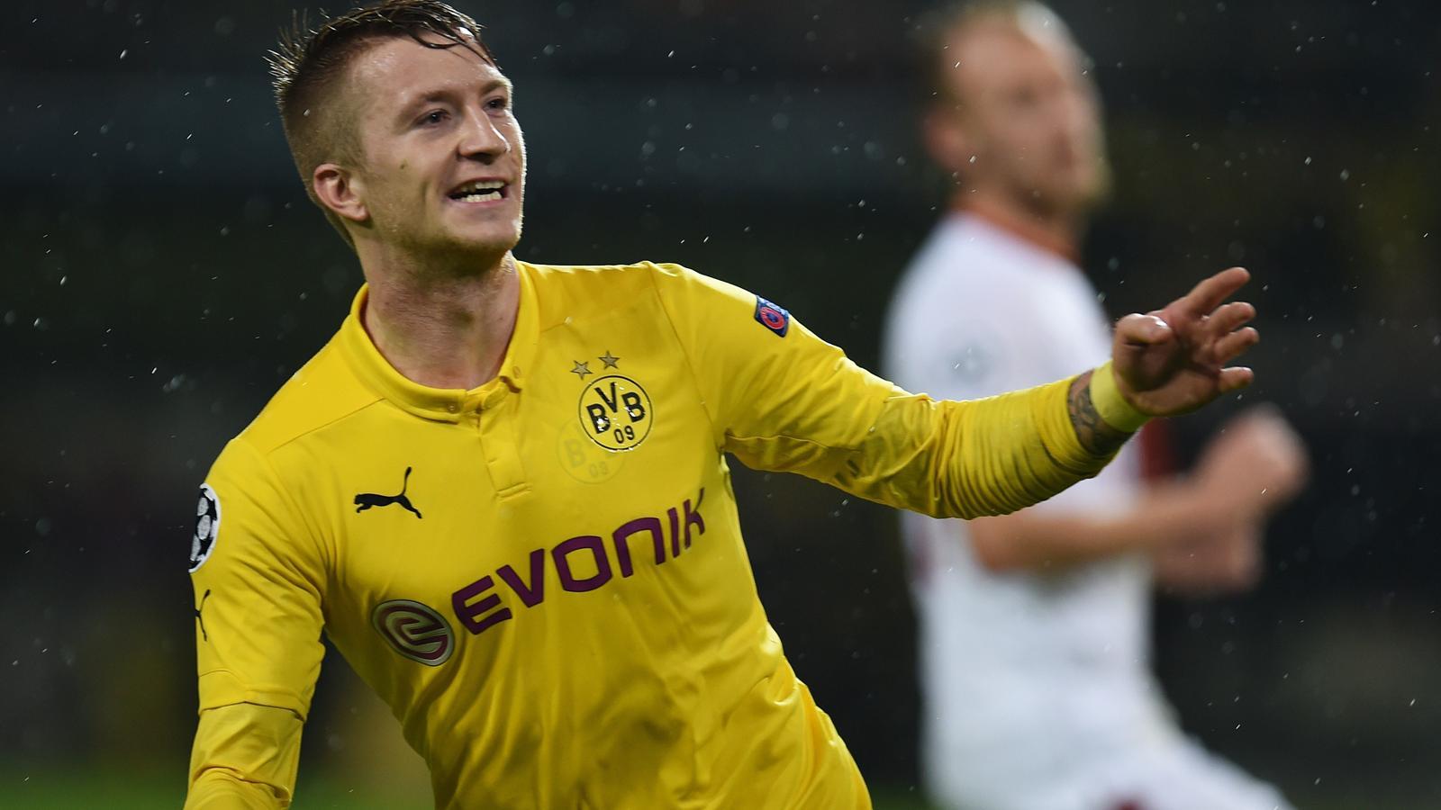 Marco Reus avec le Borussia Dortmund