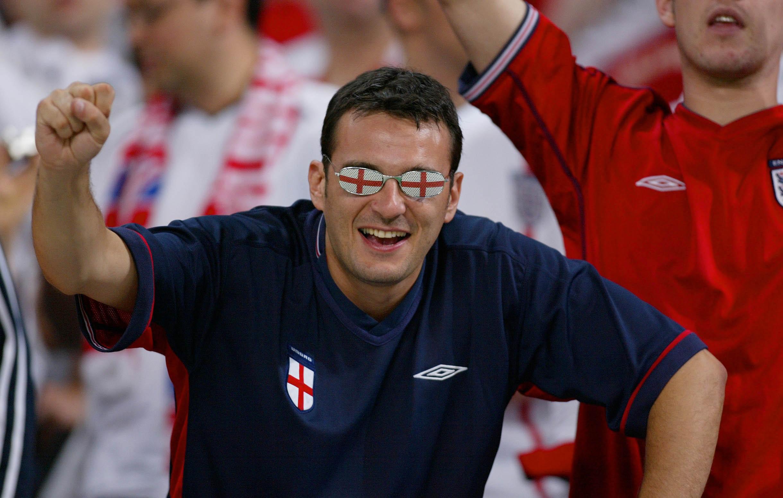 Фанат сборной Англии