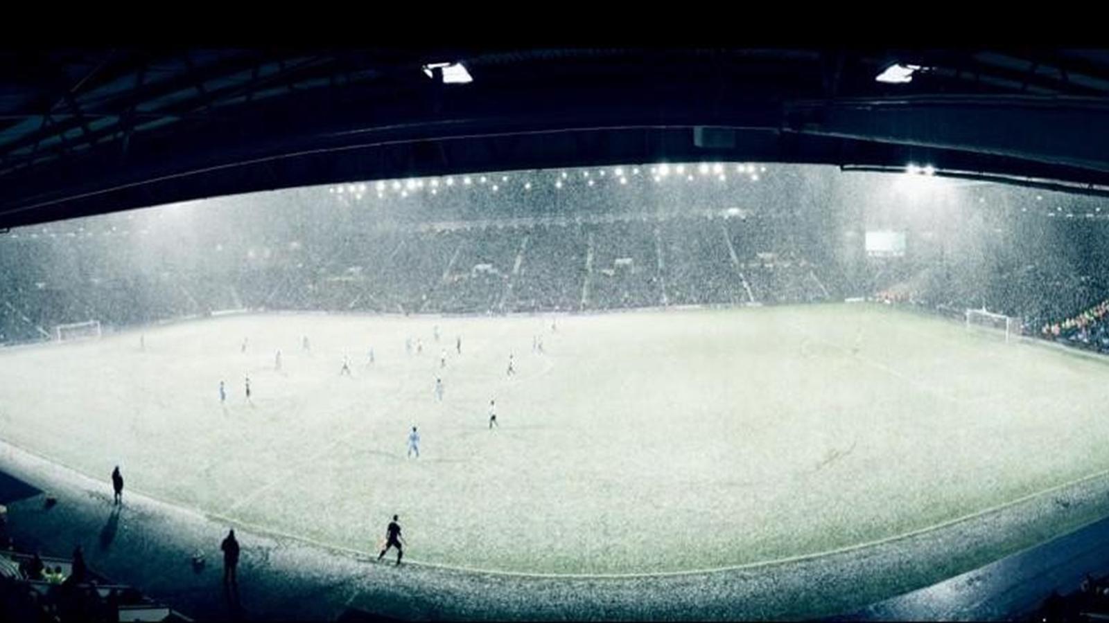 Снег на «Хоуторнс»