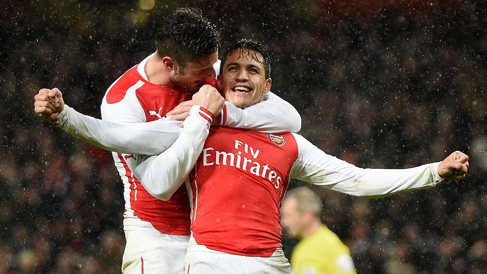 Alexis Sanchez (Arsenal).