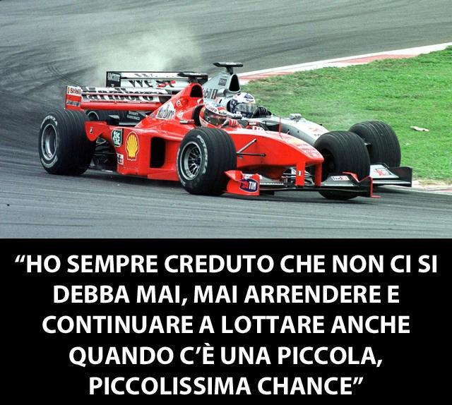 Le 13 Frasi Simbolo Di Michael Schumacher Formula 1