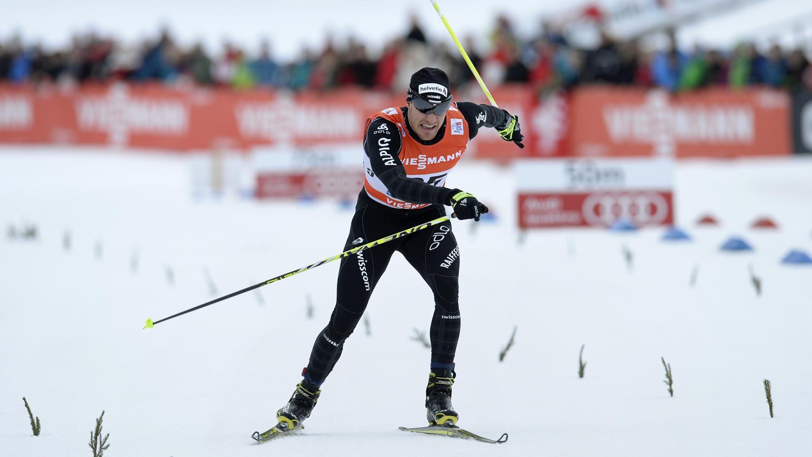 Dario Cologna vainqueur à Oberdorf