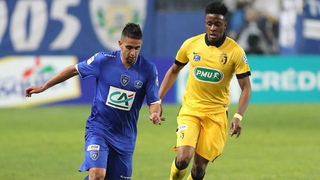 Bien triste à Furiani, Lille ne sauvera pas sa saison avec la Coupe