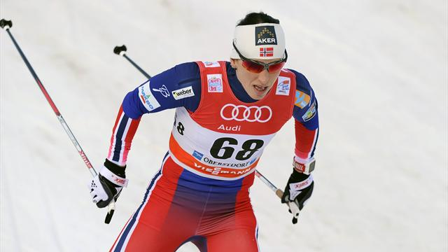 15e titre pour la Norvégienne Marit Björgen, en or sur le skiathlon