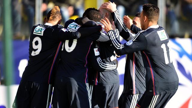 En direct live rc lens lyon coupe de france 4 janvier 2015 eurosport - Coupe de france 2015 direct ...