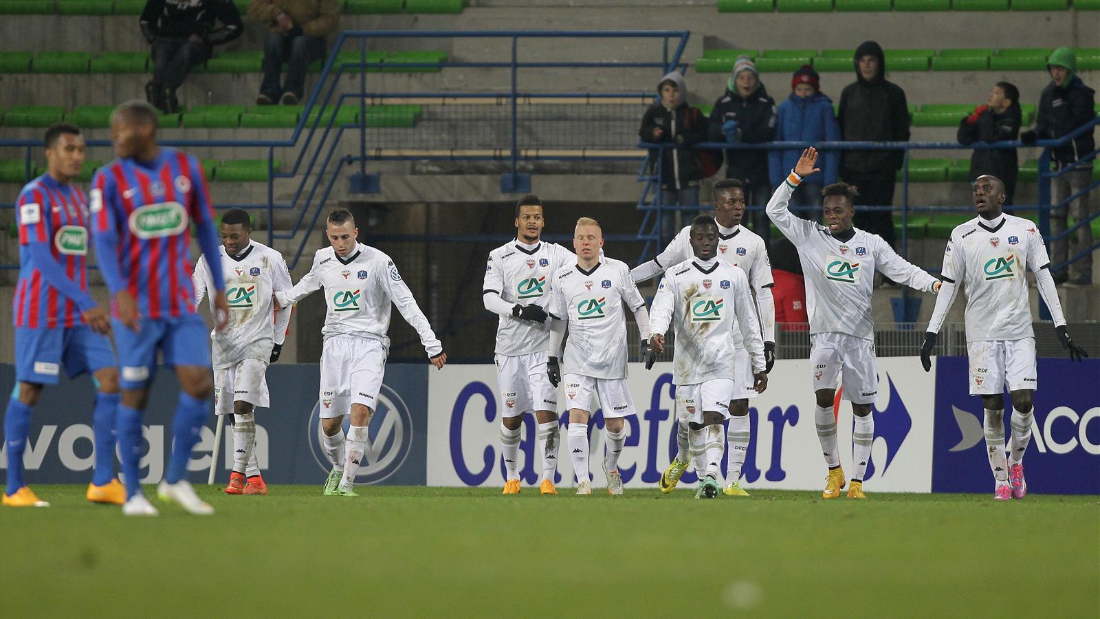 En direct live caen dijon coupe de france 4 janvier 2015 eurosport - Coupe de france 2015 direct ...