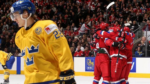 Россия и Канада встретятся в финале молодежного чемпионата мира
