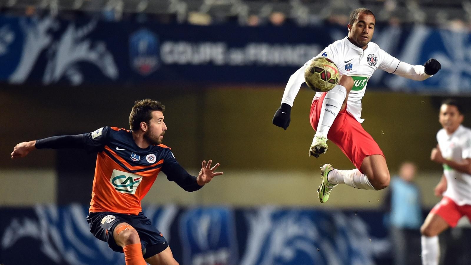 Coupe de france montpellier psg 0 3 paris se - Resultats coupe de france football 2015 ...