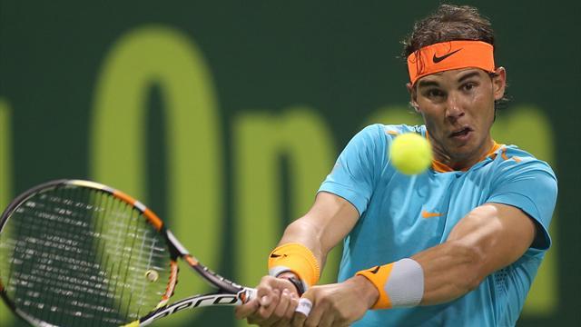 Pour Nadal, l'année commence par un gros gadin