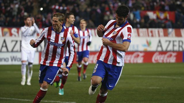 Atletico Madrid defeat Real Madrid on Fernando Torres' return