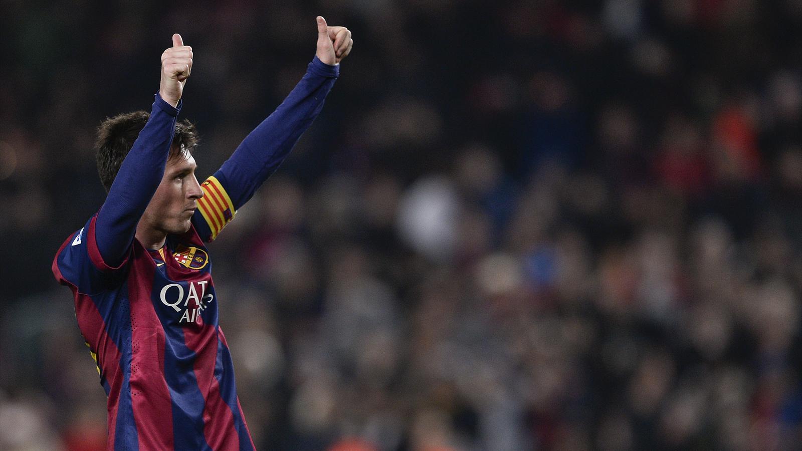 Leo Messi (Barcelone) contre Elche en Coupe du Roi