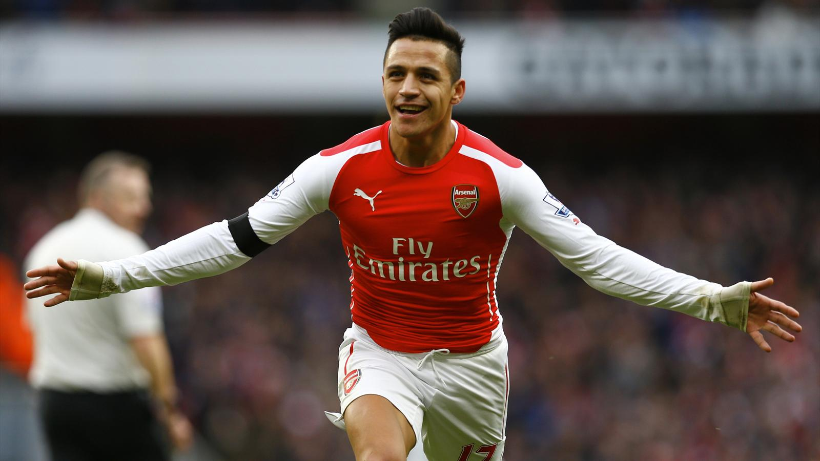 Alexis Sanchez's latest epic contribution inspires Arsenal thumping of Stoke - Premier League ...
