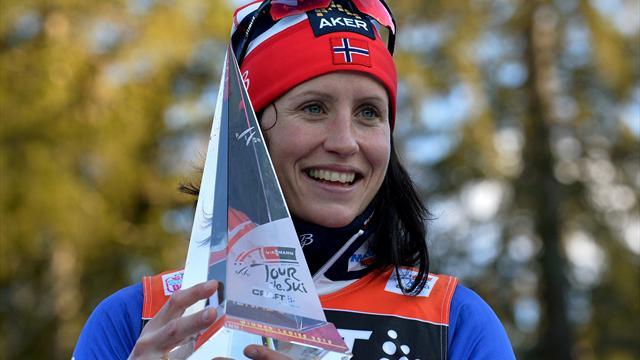 Бьорген победила в скиатлоне, Чекалева – седьмая