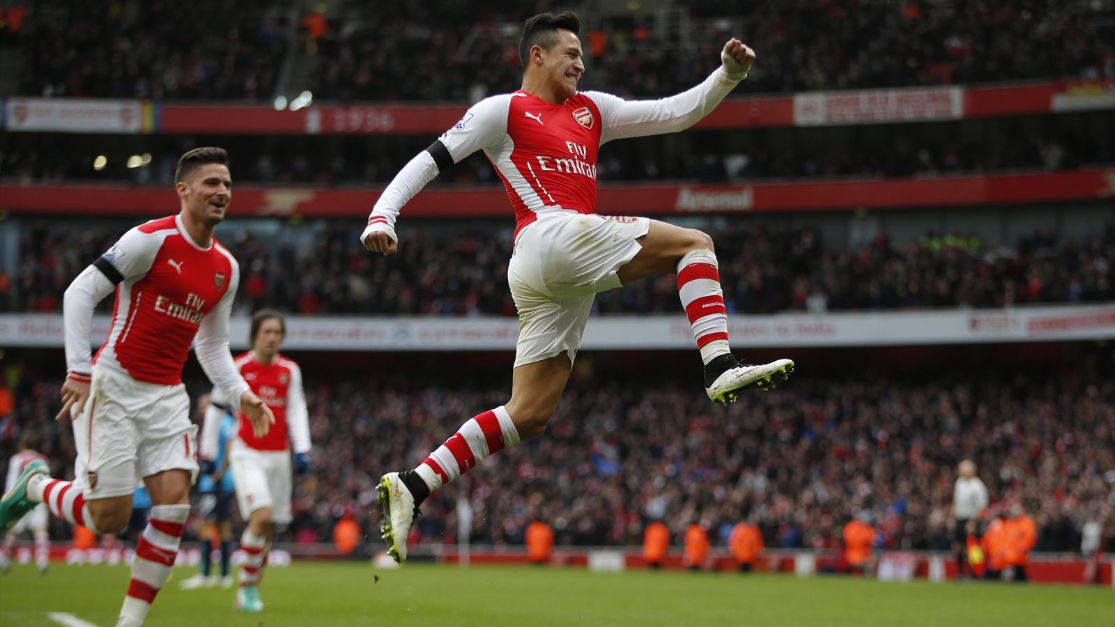 Premier league : alexis sanchez porte arsenal sur ses épaules et a