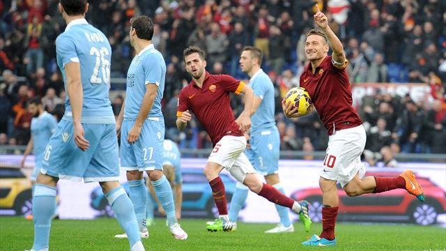 La Rome enchaine, la Fiorentina se reprend