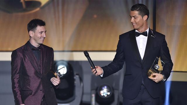 Ronaldo : «Cela a été compliqué de voir Messi gagner plusieurs Ballons d'Or»
