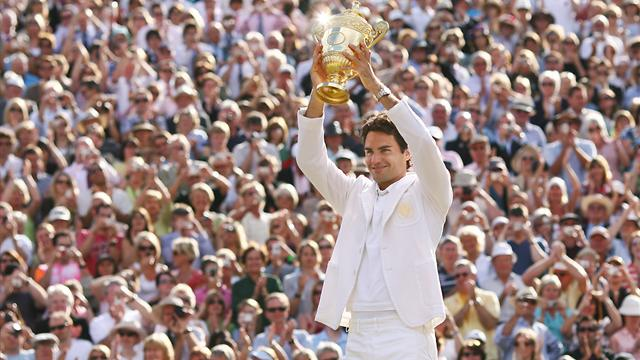 Le Top 10 de Federer en Grand Chelem