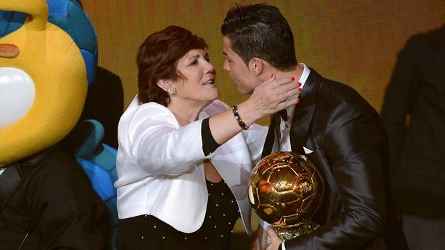 Cristiano Ronaldo's mother: I wanted an abortion, but God said no