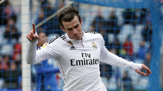 Gareth Bale crowned world's fastest player