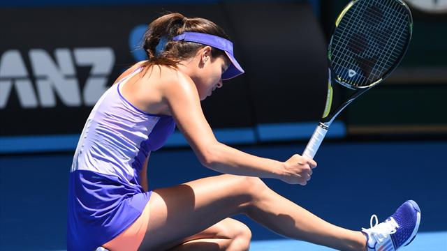 Fifth seed Ana Ivanovic stunned by Lucie Hradecka