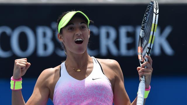 Sharapova n'a pas pu lutter, Garcia est en finale