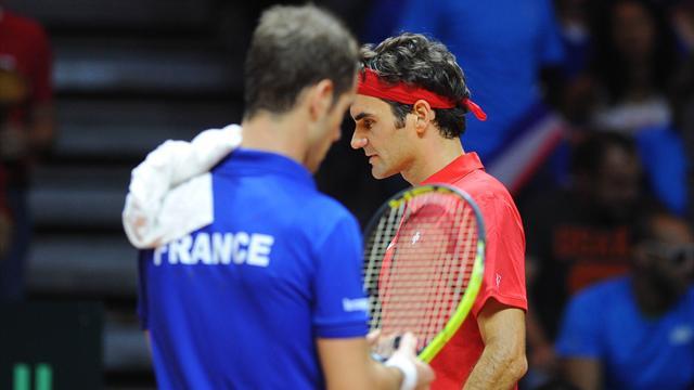 Tennis : Contre Gasquet, Federer s'est blessé au dos et a pensé