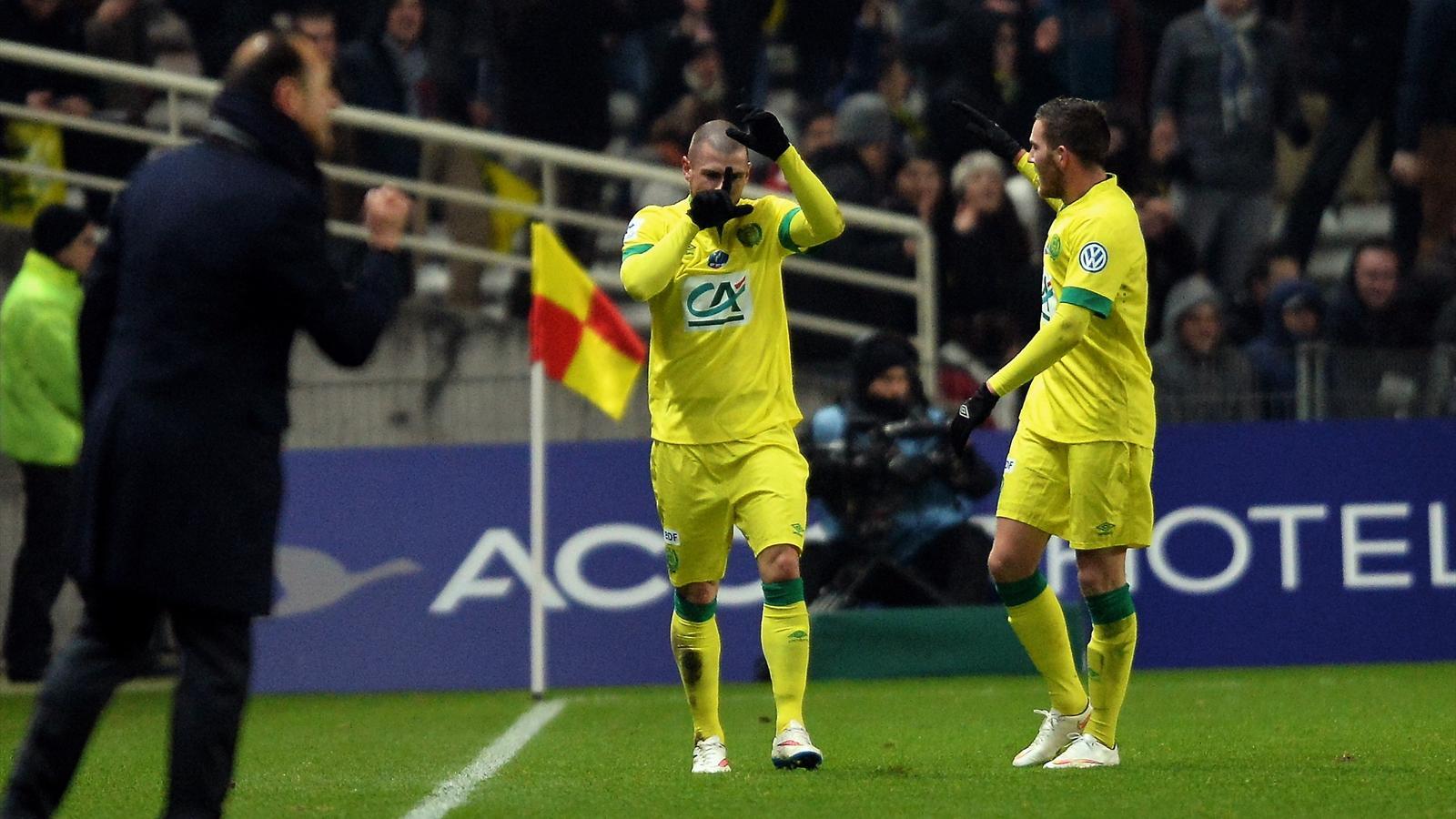 Coupe de france 16e de finale nantes limine lyon 3 2 - Resultats coupe de france football 2015 ...