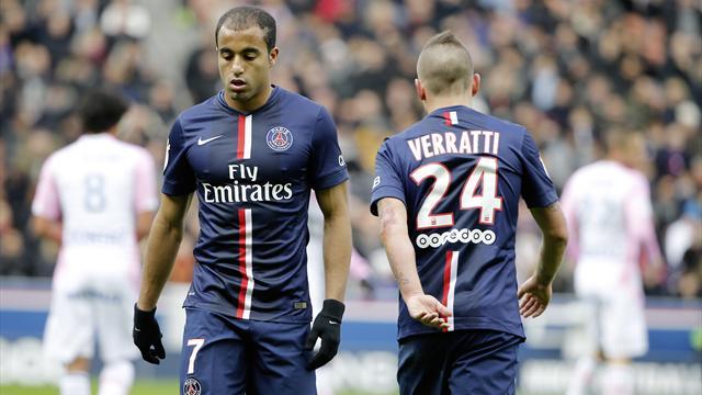 Le PSG devra se passer d'Aurier, Cabaye, Lucas, et également de Thiago Motta