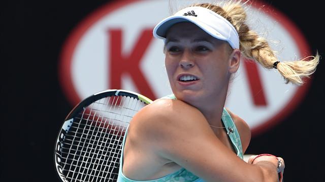 WTA Roma'da iki favori veda etti