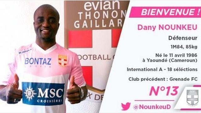 Evian Dany transferini açıkladı