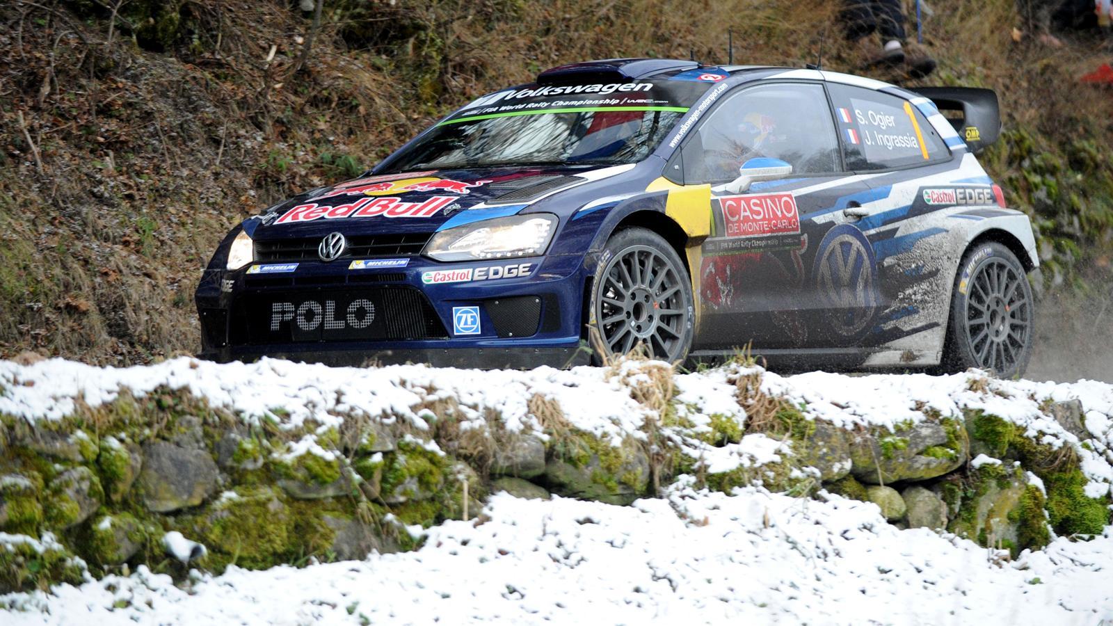 rallye monte carlo 2015 233 1 loeb casse une suspension ogier confortable leader rallye