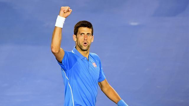 Djokovic en quart, la force de l'habitude
