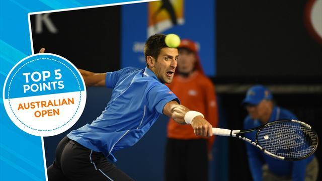 Tennis : La diff�rence entre Djokovic et un mur? Il n'y en a pas