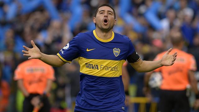 Los grandes jugadores de Boca Juniors en la Copa Libertadores