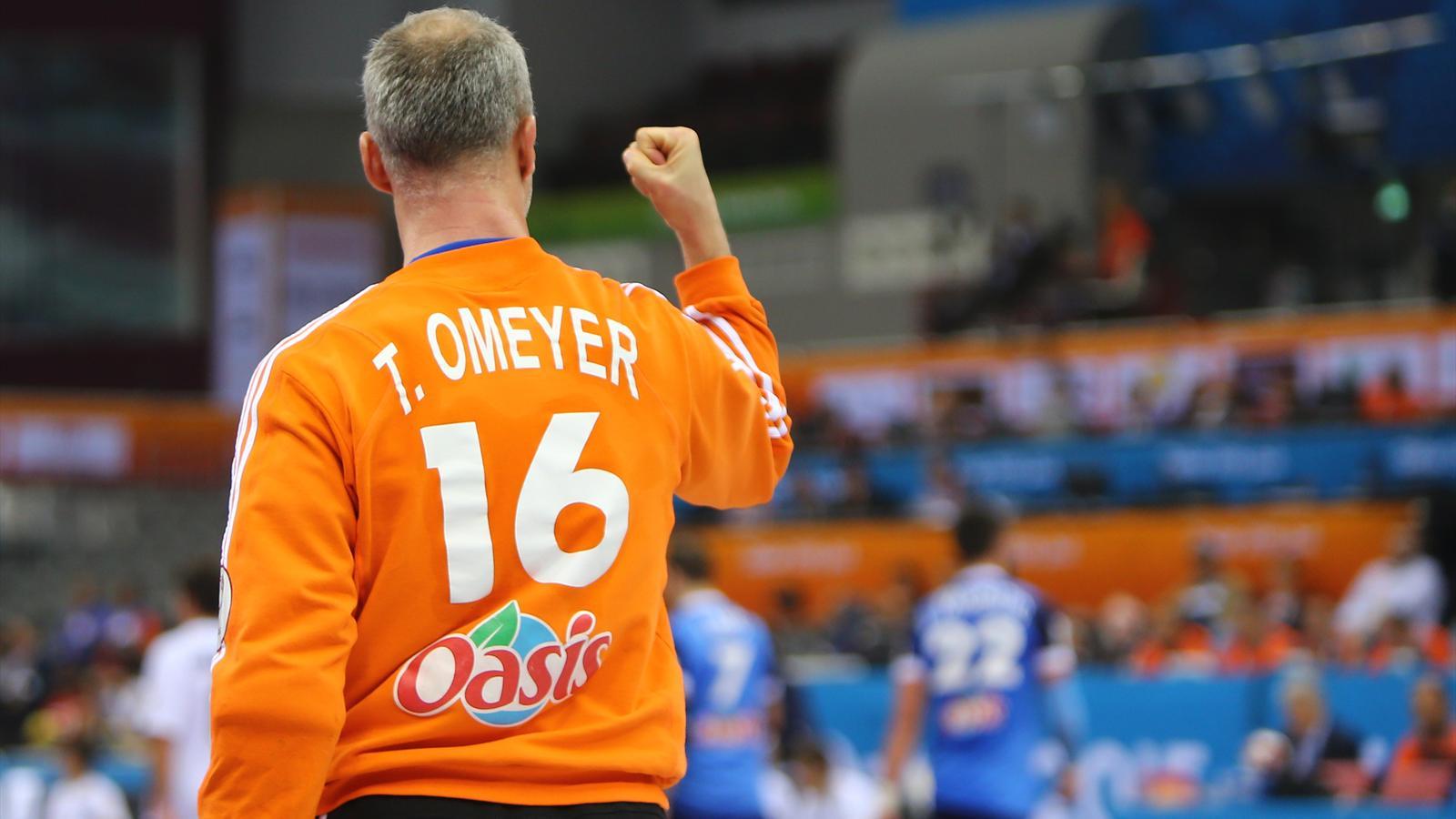 Thierry omeyer l 39 inusable gardien du temple bleu handball eurosport - Diffusion coupe du monde handball 2015 ...