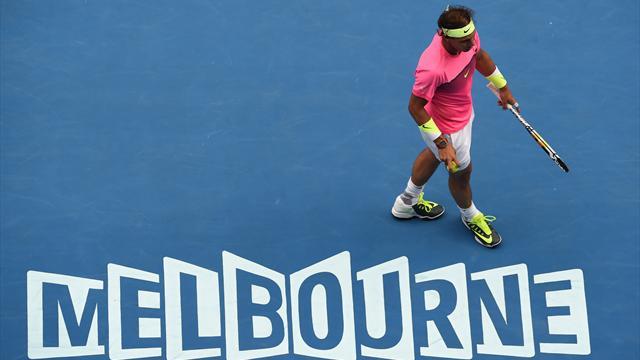 Melbourne dit aussi au revoir à Nadal